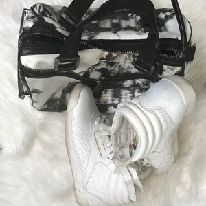Classic High Top Sneakers.